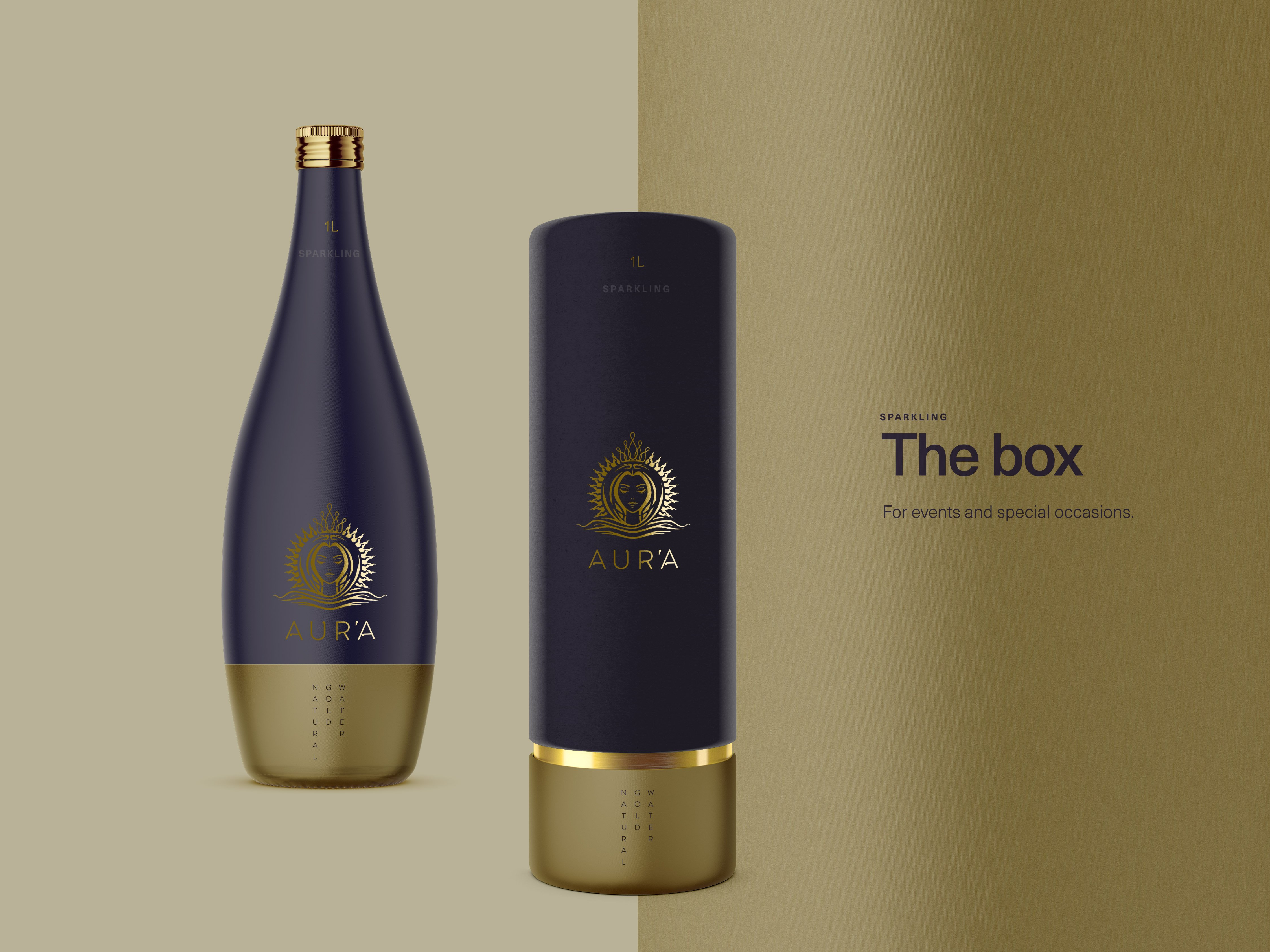 AURA GOLD WATER BLACK_BOX