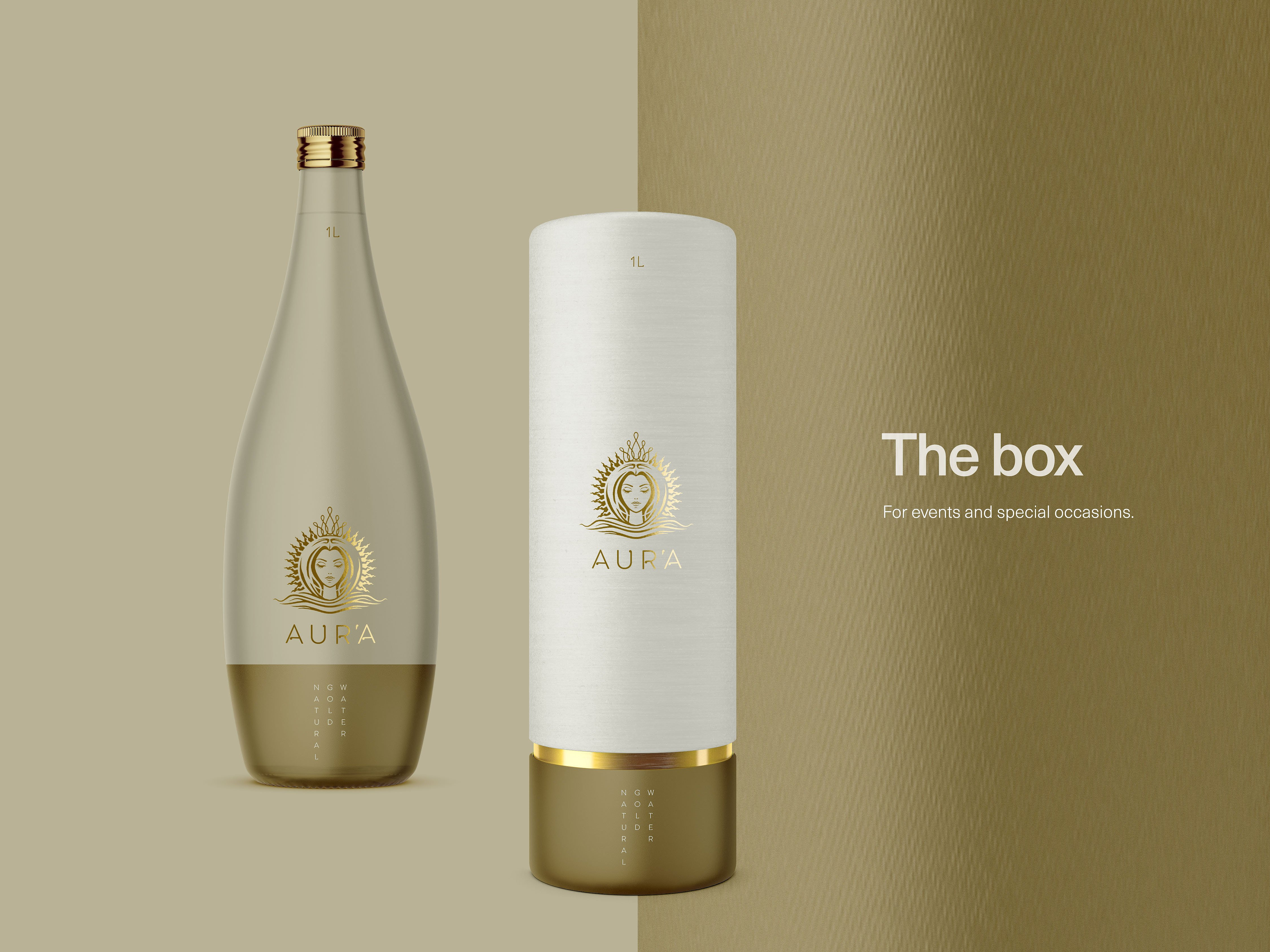 AURA GOLD WATERR_BOX
