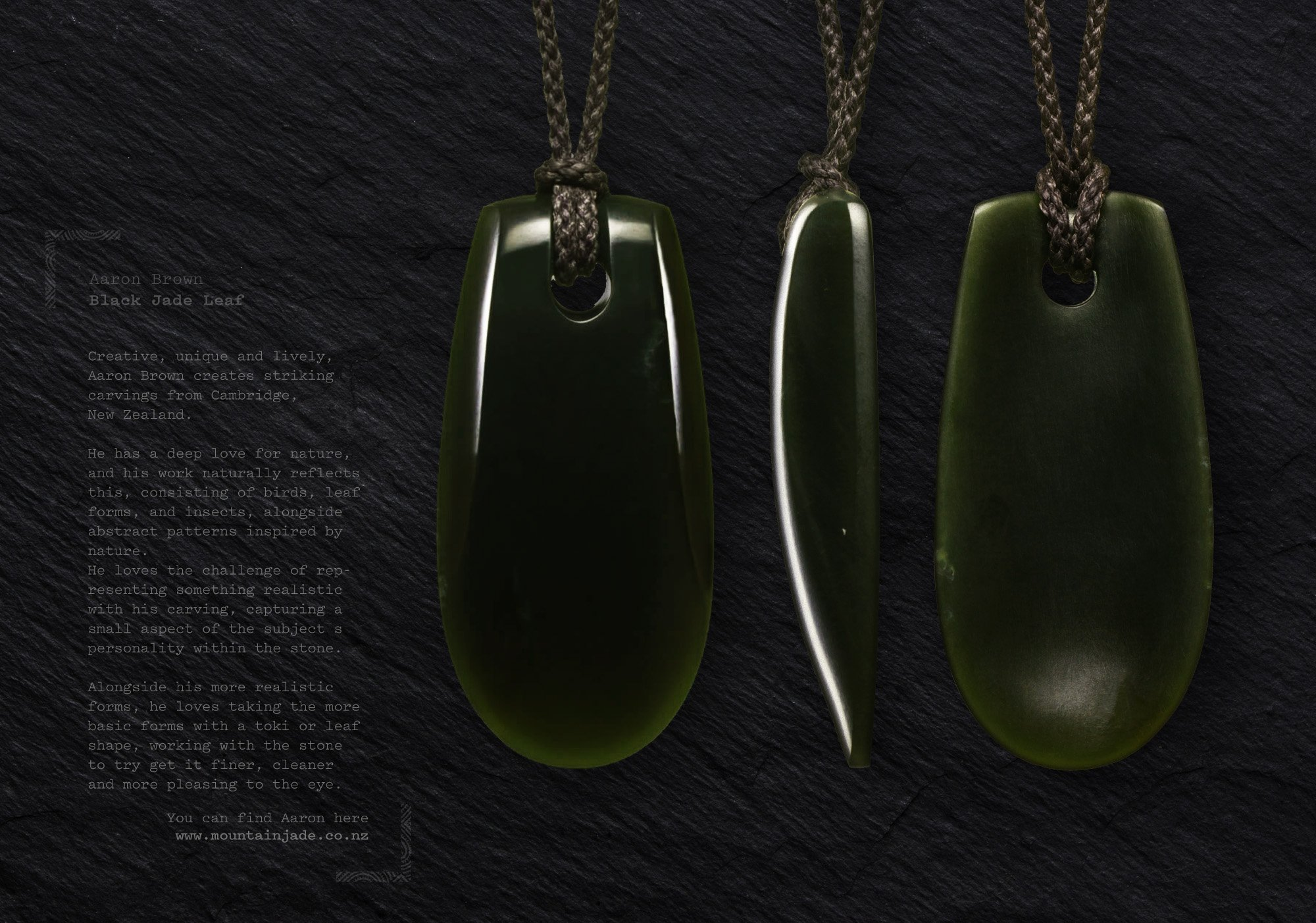 TOKI WEBSITE – ARTWORK BLACK LEAF3